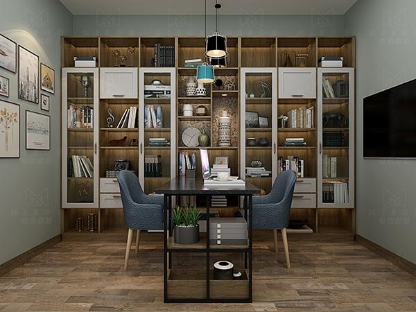米索家居:书柜常见的几种设计,好看又易收纳