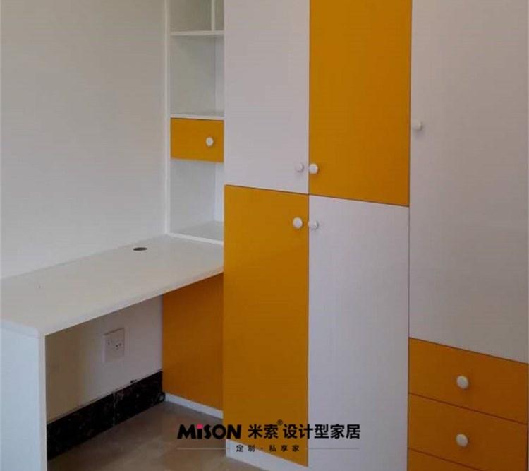 【江苏淮安】[香格里拉国际花园]米索定制儿童房衣柜安装实景欣赏