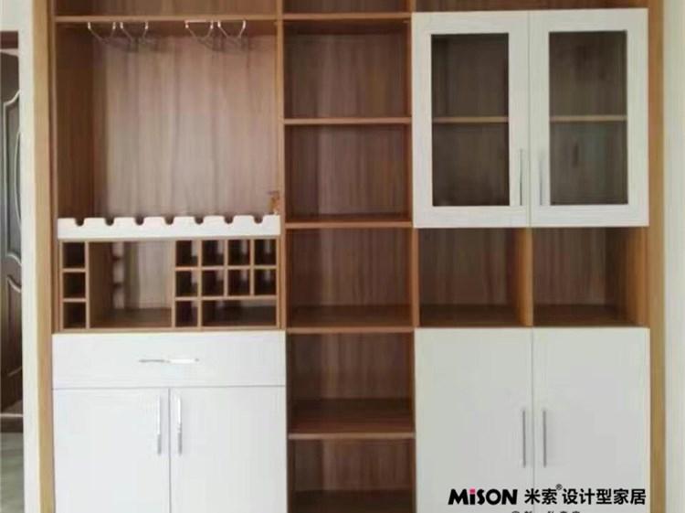 【上海】[宁兴上尚湾]米索定制酒柜安装实景欣赏